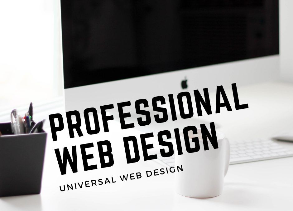 A User Appreciates Professional Web Design