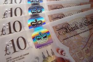 £10 GPB Notes