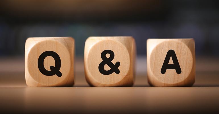 The Q&A With… Colin Morgan!