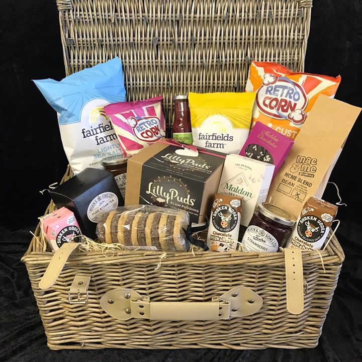 Secret Hampers supporting local charity